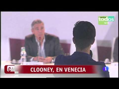 George Clooney Ft. Sandra Muller Festival de cine Venecia