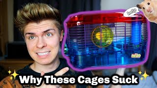 Why Crittertrails SUCK! (stop using small hamster cages) by Tyler Rugge