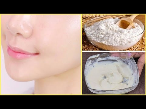 Permanent Skin Whitening Wheat Flour Face Pack |Get Fair & Glowing Skin Instantly |Fair Skin in7Days