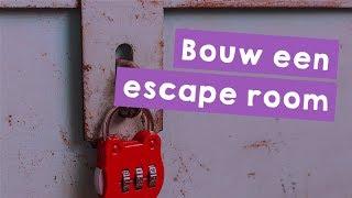 Bouw een escape room (thuis of escape the classroom) - De Baas op Internet Missie 4