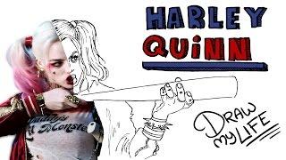 Video HARLEY QUINN | Draw My Life MP3, 3GP, MP4, WEBM, AVI, FLV November 2017