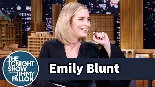 Video Emily Blunt's Kids Are Picking Up Their Dad's American Accent MP3, 3GP, MP4, WEBM, AVI, FLV April 2018