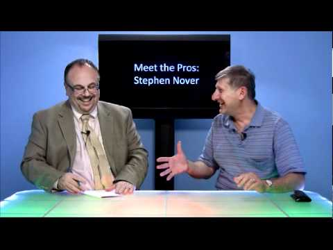 Meet the Pros: Stephen Nover