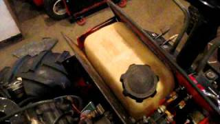 6. case 222 articulating 4x4 tractor project part 3