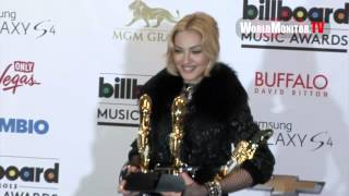 Madonna Billboard Music Awards 2013 Backstage Pop Queen