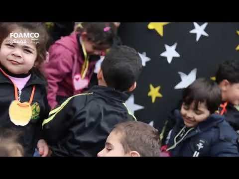 زيارة أطفال روضة سنابل لشركة فرشات فومكو