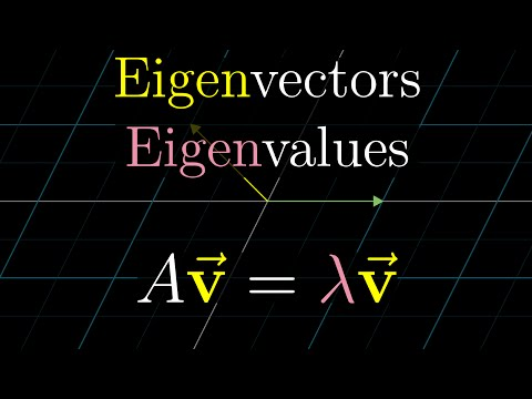 Eigenvectors And Eigenvalues | Essence Of Linear Algebra, Chapter 14