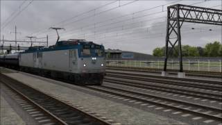 Nonton TS 2017-NEC-Amtrak AEM-7s and Acela Express at Newark Liberty Airport Film Subtitle Indonesia Streaming Movie Download