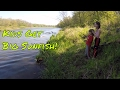 Family Fishing for Master Class Redear Sunfish (Shellcrackers)