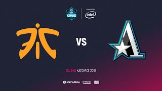 Fnatic vs Team Aster, ESL One Katowice 2019, bo2, game 1 [Adekvat & Mortalles]