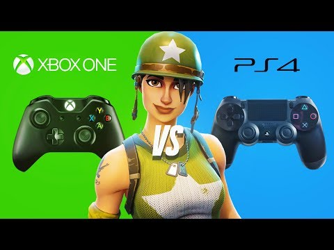 FORTNITE CAUGHT IN XBOX ONE vs PS4 WAR!