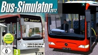 Bus Simulator - 2012 (European Bus Simulator) Tutorial Gameplay Review HD