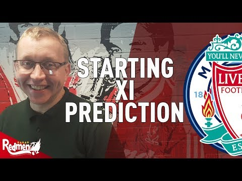 Liverpool V Man City | Starting XI Prediction LIVE