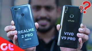 Download Video Realme 2 Pro vs Vivo V9 Pro Comparison, Camera, Speed, Design, Battery | GT Hindi MP3 3GP MP4