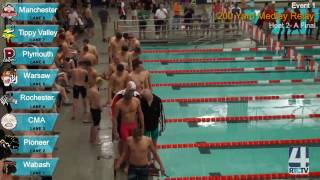 IHSAA Boys Swimming Diving Finals @ Warsaw High School