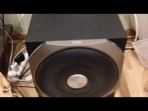 Edifier S730 акустика (видео)