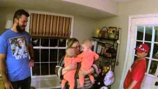 We take our twin babies around the world to surprise their grandma for the first time! I accidently deleted the previous edition of the...