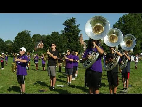Roanoke high school marching band prepares for Disney performance