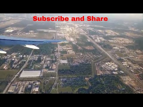 Aeroplane view of Houston AirPort | #uniquevideos | by unique videos.