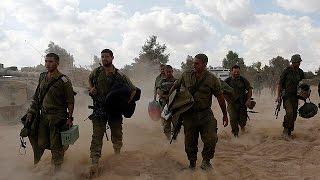 L'armée Israélienne Se Retire De La Bande De Gaza