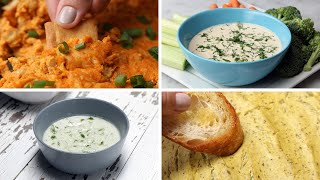 Vegan Dips 4 Ways by Tasty