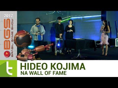 BGS 2017: Hideo Kojima é eternizado na Wall of Fame  TudoCelular.com