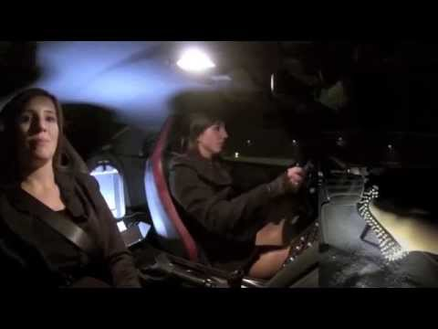 Fast Driving Girls - 320km/h on the Autobahn: Nissan GT-R R35 Helena and Sara (V063)