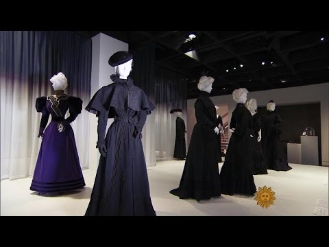 What widows wore: Victorian fashions for mourning (видео)