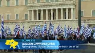 Golden Dawn Athens Show Of Strength: Greek Nationalists Rally In Support Of Jailed Far-right Leader