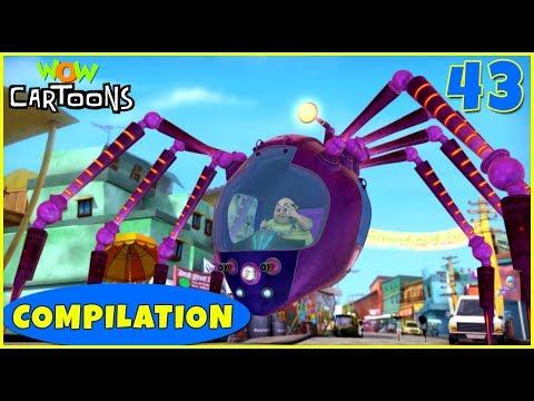 Vir the robot boy | Action Cartoon Video | New Compilation - 43 | Kids Cartoons | Wow Cartoons