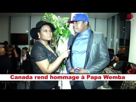 TÉLÉ 24 LIVE: Canada rend un dernier hommage à Papa wemba.