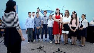 Grupa de copii – Cerul coboara pe pamant