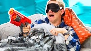 Video NERF Don't Wake Daddy Challenge! MP3, 3GP, MP4, WEBM, AVI, FLV September 2018