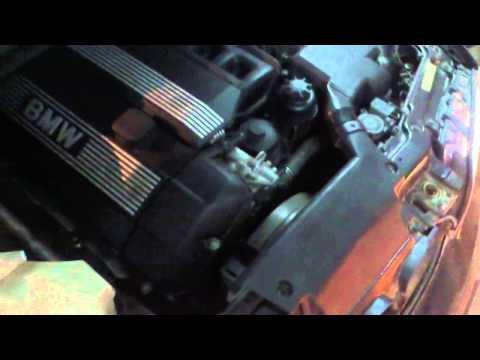 Bmw e46 320i sound engine M52TU