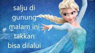 Disney FROZEN Let It Go in Bahasa Indonesia [cover] Video