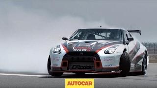 DRIFTED | The world's fastest drift car | 1400bhp, 190mph Nissan GT-R | Autocar by Autocar