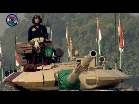 Indian Battle Tanks I 72nd Republic Day Parade 26th January 2021