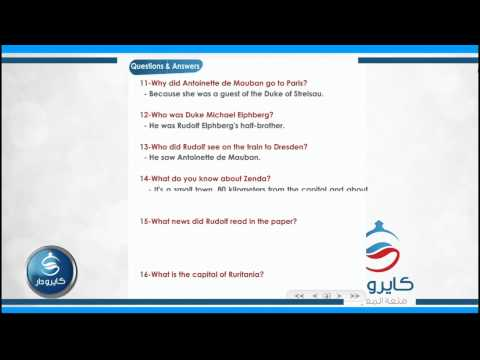 English-story-Chapter1| 01 - Questions & Answers