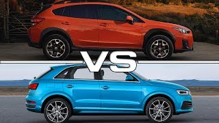 2018 Subaru Crosstrek vs 2016 Audi Q3Song: The Distance Between Us [Rewind Remix Release]Music provided by Rewind Remix https://goo.gl/08ZthIArtist: Davi Hemann