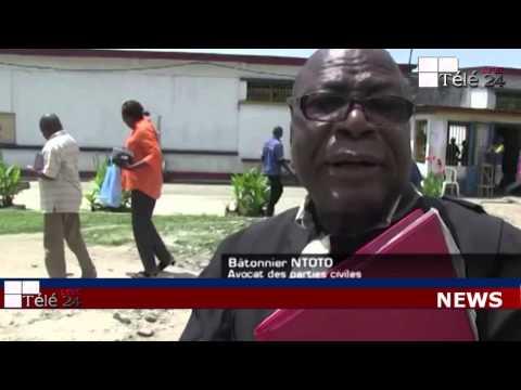 TÉLÉ 24 LIVE: John Numbi considéré par les parties civiles et certaines ONG comme le principal suspect dans l'affaire de Floribert Chebeya