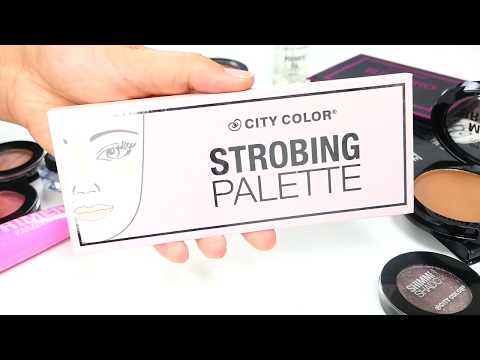 City Color City Color Strobing Palette