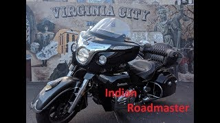 4. 2017 Indian roadmaster to Virginia City NV
