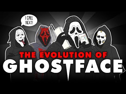 The Evolution Of GHOSTFACE/SCREAM (Animated)