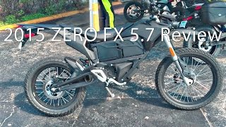 2. 2015 Zero FX ZF57 Motorcycle Review