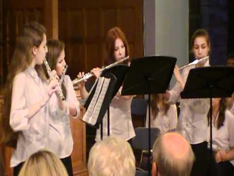 When the Saints Go Marching In Flute Quartet