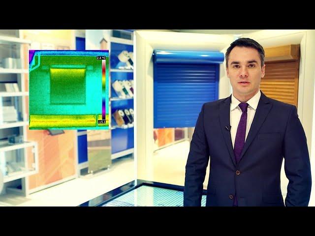 Видео «Как выбрать роллеты? Теплофизика»