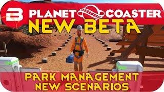 Planet Coaster BETA - Park Management, Career Mode &  Scenarios