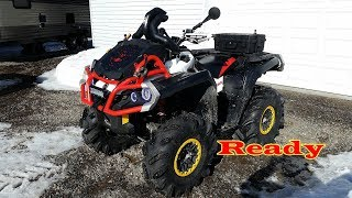 8. Can Am Outlander XMR 850 is Spring Ready to Rip