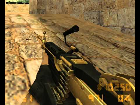 Pack de armas doradas para Counter Strike 1.6 No steam 1 link Mediafire