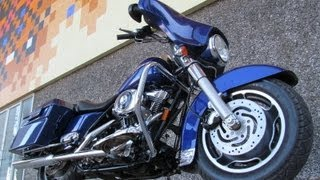 10. Used 2006 Harley Davidson Street Glide FLHXI Motorcycle For Sale